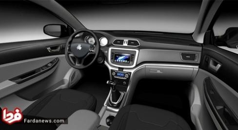 نمای داخی خودرو رهام سایپا