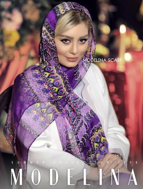 عکس سحر قريشي به عنوان مدل