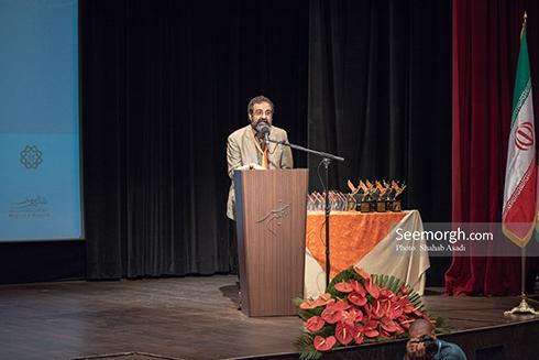 جواد یحیوی مجری اختتامیه سمفونی لک لک ها، تصویر جواد یحیوی