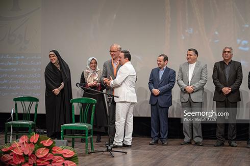 هنرمندان و چهره های اجتماعی در جشنواره سمفونی لک لک ها،تصویر چهره های اجتماعی در جشنواره فرهنگی با موضوع ام اس