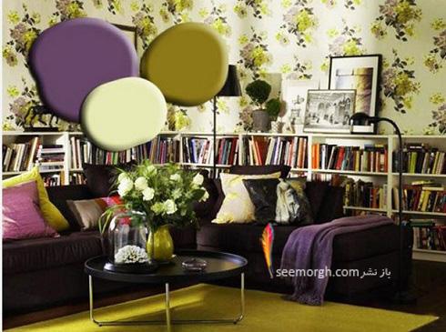 دکوراسیون داخلی,طراحی دکوراسیون داخلی,دکوراسیون داخلی منزل,ترکیب رنگ در دکوراسیون داخلی,سبز در دکوراسیون داخلی,دکوراسیون,دکوراسیون نشیمن