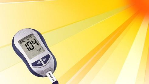 تابستان و دیابت,دستگاه قند خون