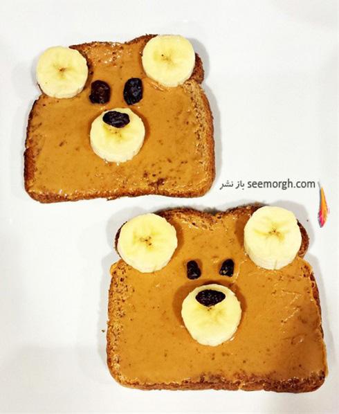 تزیین غذای,تزئین غذای کودک,تزیین غذای کودک,کودک بدغذا,ایده تزیین غذای کودک,تزیین صبحانه کودک