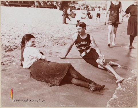 تسلا,نیکولا تسلا,ساحل,عکس قدیمی