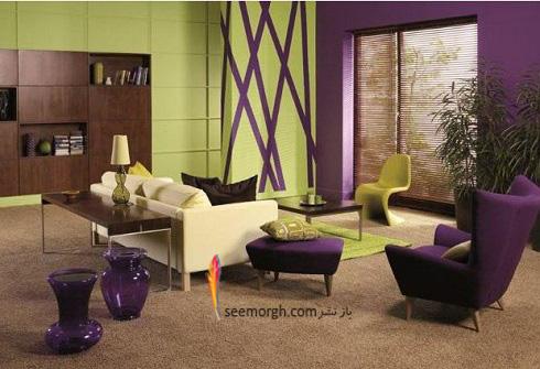 دکوراسیون داخلی,طراحی دکوراسیون داخلی,دکوراسیون داخلی منزل,ترکیب رنگ در دکوراسیون داخلی,سبز در دکوراسیون داخلی