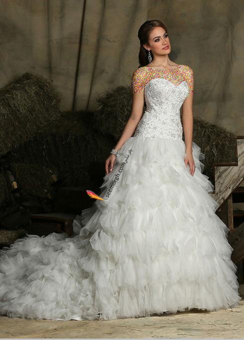 مدل لباس عروس,جدیدترین مدل لباس عروس,لباس عروس برند داوینچی,مدل لباس عروس 2018,لباس عروس متناسب با اندام,راهنمای انتخاب لباس عروس,انتخاب مدل لباس عروس