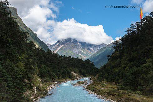yumthank,valley,sikkim,دره سیکیم,هند,جاذبه