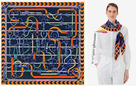 روسری,هرمس,روسری هرمس,مدل روسری,جدیدترین مدل روسری,جدیدترین مدل روسری هرمس,جدیدترین مدل روسری هرمس,روسری هرمس Hermes برای تابستان 2018