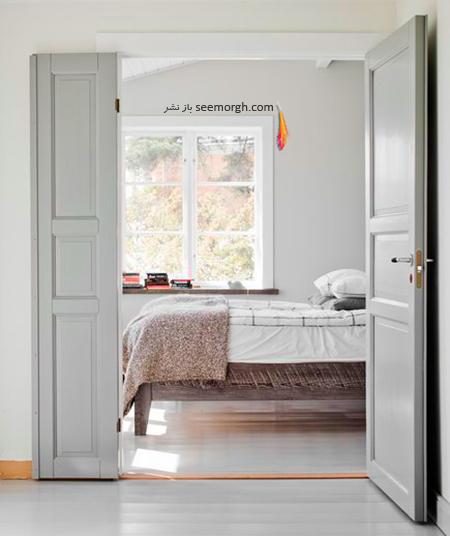 استفاده از رنگ سفید برای دکوراسیون داخلی اتاق های پرنور,دکوراسیون داخلی,اشتباهات در دکورایون داخلی