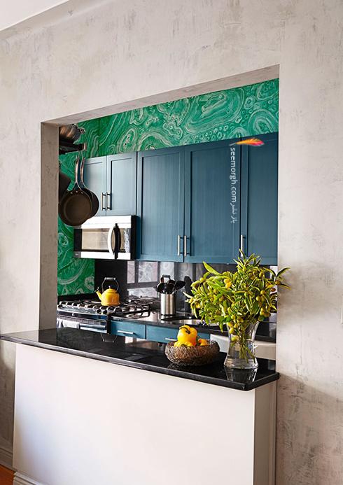 کابینت های قابل حمل بهترین ایده برای کابینت آشپزخانه های کوچک,دکوراسیون آشپزخانه,دکوراسیون آشپزخانه کوچک,چیدن دکوراسیون آشپزخانه های کوچک