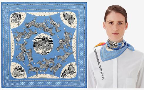 روسری,هرمس,روسری هرمس,مدل روسری,جدیدترین مدل روسری,جدیدترین مدل روسری هرمس,جدیدترین مدل روسری هرمس,جدیدترین کلکسیون روسری هرمس Hermes برای تابستان 2018,
