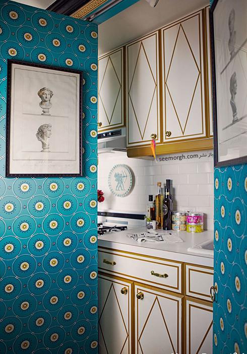 درب های کشویی برای آشپزخانه های کوچک,دکوراسیون آشپزخانه,دکوراسیون آشپزخانه کوچک,چیدن دکوراسیون آشپزخانه های کوچک