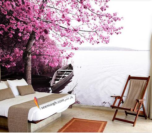 کاغذ دیواری,کاغذ دیواری سه بعدی,کاغذ دیواری برای اتاق خواب,کاغذ دیواری سه بعدی برای اتاق خواب