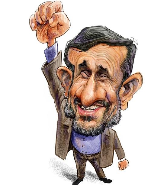 ژست ویژه احمدینژاد برای اعتراضات خیابانی علیه دولت!+تصویر