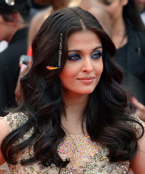 آیشواریا رای,مدل مو,مدل موی باز,مدل مو باز,مدل موی باز آیشواریا رای,بهترین مدل موی باز به سبک آیشواریا رای Aishwarya Rai