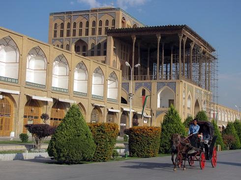 گردشگری,دیدنی ایران,مکان های تاریخی,عالی قاپو اصفهان