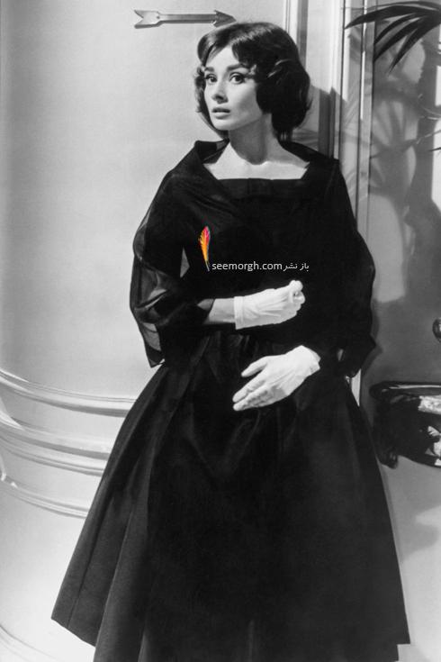 بهترین مدل لباس های آدری هپبورن Audrey Hepburn از برند ژیوانشی Givenchy,مدل لباس,مدل لباس های آدری هپبورن,مدل لباس های برتر آدری هپبورن,ّهترین مدل لباس های آدری هپبورن از ژیوانشی,