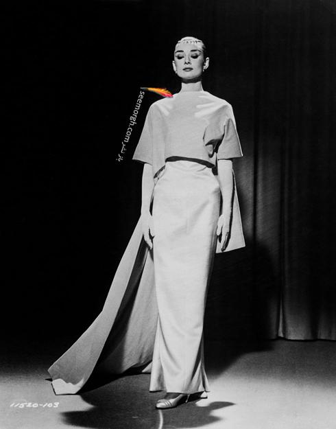 لباس های آدری هپبورن Audrey Hepburn طراحی شده از برند ژیوانشی Givenchy,مدل لباس,مدل لباس های آدری هپبورن,مدل لباس های برتر آدری هپبورن,ّهترین مدل لباس های آدری هپبورن از ژیوانشی,