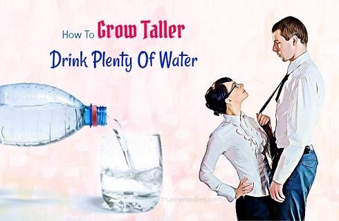 نوشیدن آب,افزایش قد