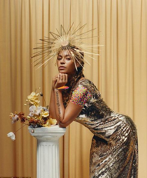 بیانسه,مجله ووگ,عکس های جدید بیانسه,عکس  های جالب بیانسه Beyonce روی مجله ووگ Vogue