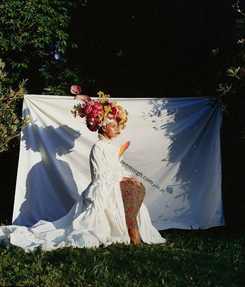 بیانسه,مجله ووگ,عکس های جدید بیانسه,عکس  های جدید بیانسه Beyonce روی مجله ووگ Vogue