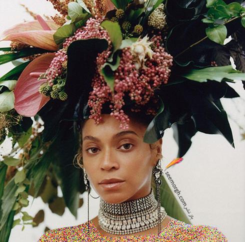 بیانسه,مجله ووگ,عکس های جدید بیانسه,عکس  های بیانسه Beyonce روی جدیدترین شماره مجله ووگ Vogue