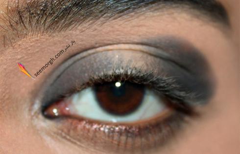 محو کردن سایه دودی برای آرایش چشم اسموکی,آرایش چشم,آموزش آرایش چشم,آرایش چشم دودی,آموزش آرایش چشم دودی,آرایش چشم اسموکی,آموزش آرایش چشم اسموکی