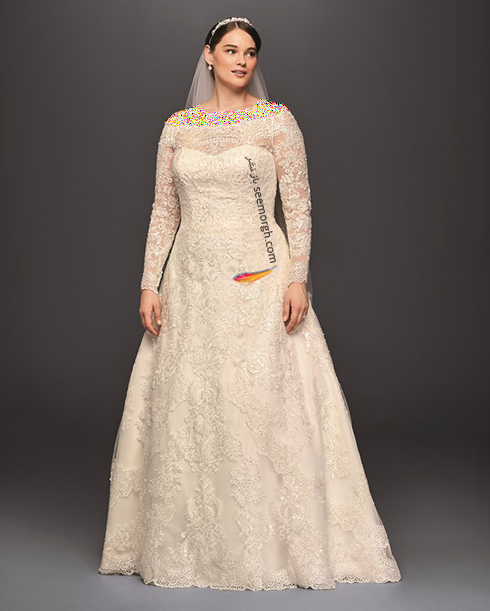 بهترین مدل لباس عروس 2018 سایز بزرگ به پیشنهاد مجله مد Bridal,لباس عروس,لباس عروس 2018,مدل لباس عروس,مدل لباس عروس 2018,لباس عروس سایز بزرگ,مدل لباس عروس سایز بزرگ