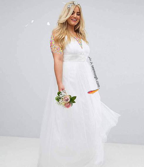 مدل لباس عروس 2018 سایز بزرگ به پیشنهاد مجله مد Bridal,لباس عروس,لباس عروس 2018,مدل لباس عروس,مدل لباس عروس 2018,لباس عروس سایز بزرگ,مدل لباس عروس سایز بزرگ