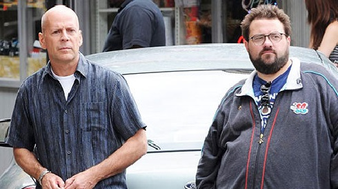 بروس ویلیس و کوین اسمیت