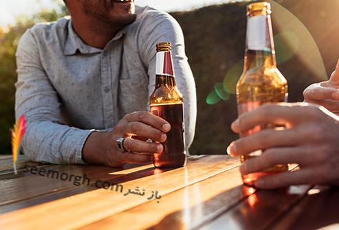 آبجو,نوشیدن آبجو