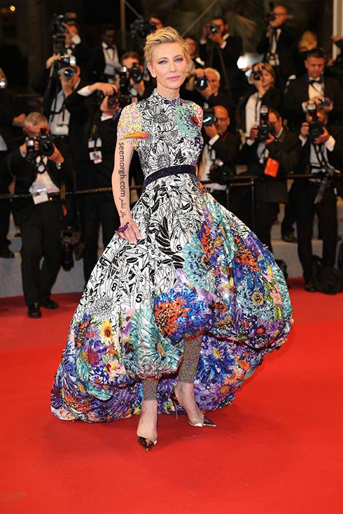 بهترین مدل لباس در جشنواره کن 2018 Cannes - کیت بلانشت Cate Blanchett,مدل لباس,جشنواره کن,جشنواره کن 2018,بهترین مدل لباس در جشنواره کن 2018,مدل لباس های برتر در جشنواره کن 2018