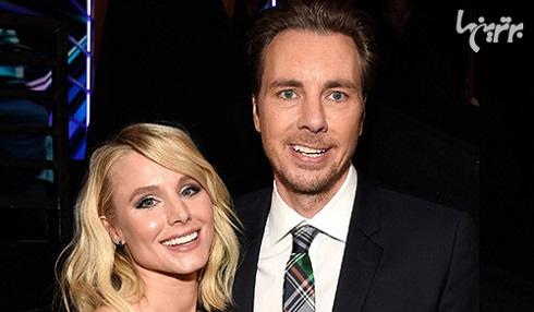 زوج هالیوودی,زن و شوهر هالیوودی,زن و شوهر بازیگر,سلبریتی,کریستن بل و همسرش
