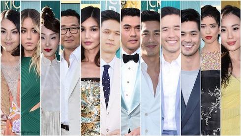 Crazy Rich Asians,بازیگران,فرش قرمز,