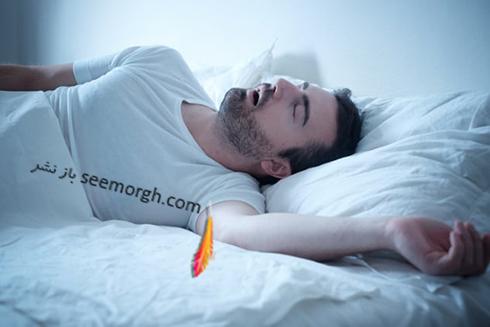 خواب,مرد خوابیده