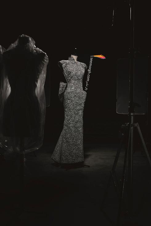 دیور,پیراهن شب دیور,پیراهن شب کریستین دیور,عکس های قدیمی دیور,لباس شب برند دیور Dior طراحی شده توسط Marc Bohan در سال 1986