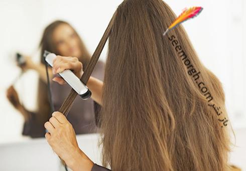 اتو مو,صاف کردن مو