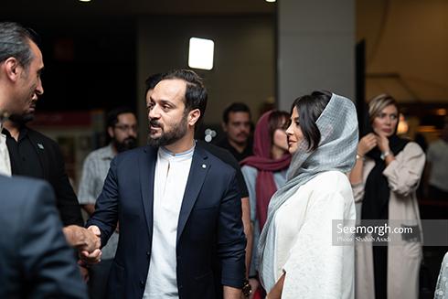 احمد مهران فر و همسرش مونا فائض پور,راه رفتن روی سیم