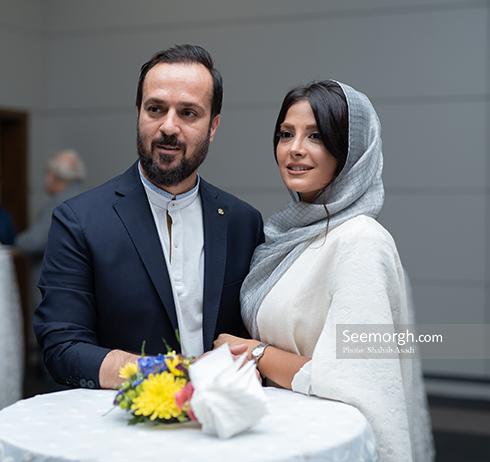 احمد مهران فر,همسرش,مونا فائض پور,اکران خصوصی,راه رفتن روی سیم»