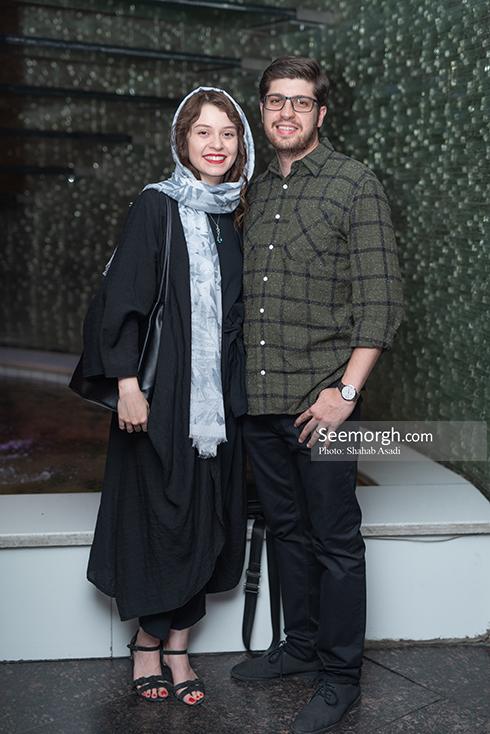 شادی کرم رودی و همسرش,جشن خانه سینما