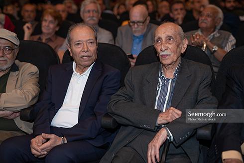 داریوش اسدزاده,علی نصیریان,جشن خانه سینما