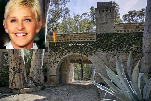 الن,خانه الن,خانه الن دی جنرس Ellen DeGeneres
