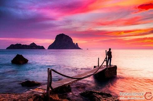 منطقه ممنوعه,گردشگری,طقه گردشگری,جزیره مرموز اس ودرا اسپانیا