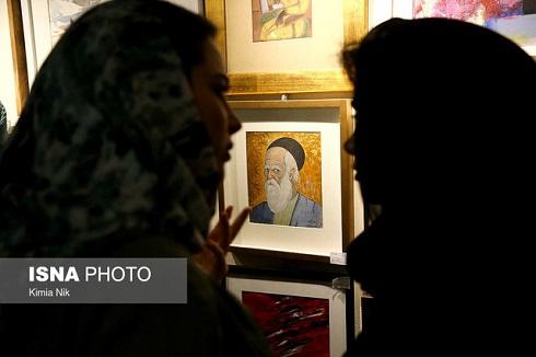 گالری گلستان,نمایشگاه,نمایشگاه گالری گلستان,نمایشگاه نقاشی,صد اثر صد هنرمند,لیلی گلستان