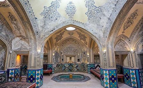 گردشگری,دیدنی ایران,مکان های تاریخی,حمام سلطان امیر احمد کاشان