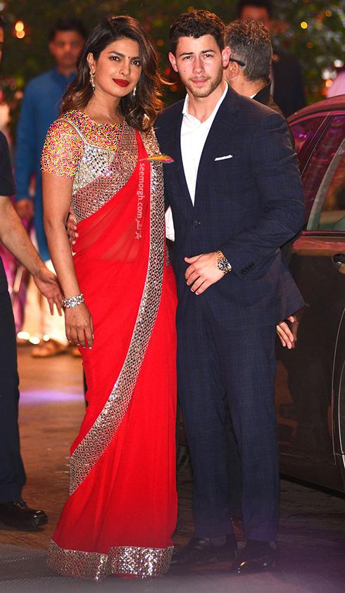 اولین عکس بعد از نامزدی پریانکا چوپرا Priyanka Chopra و نیک جونز Nick Jonas,پریانکا چوپرا,نیک جونز,پریانکا چوپرا و نامزدش نیک جونز