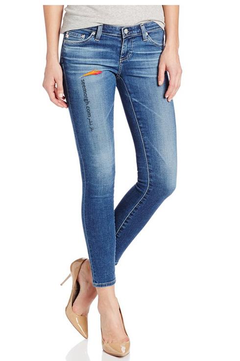 شلوار جین,ست کردن شلشوار جین با کفش,ست کردن شلوار جین با کفش پاشنه دار
