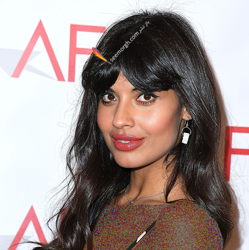 مدل مو,مدل مو چتری,مو چتری,مدل مو چتری به پیشنهاد جمیلا جمیل Jameela Jamil