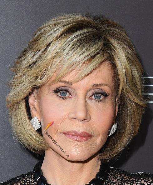 مدل مو,مدل مو چتری,مو چتری,مدل مو چتری به پیشنهاد جین فوندا Jane Fonda