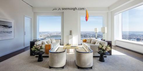 دکوراسیون اتاق نشیمن آپارتمان جنیفر لوپز Jennifer Lopez و الکس رودریگرز Alex Rodriguez,آپارتمان جنیفر لوپز,دکوراسیون جدیدترین آپارتمان جنیفر لوپز,دکوراسیون داخلی جدیدترین آپارتمان جنیفر لوپز و الکس رودریگرز
